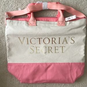 NWT 🖤 Victoria Secret Tote + Cooler